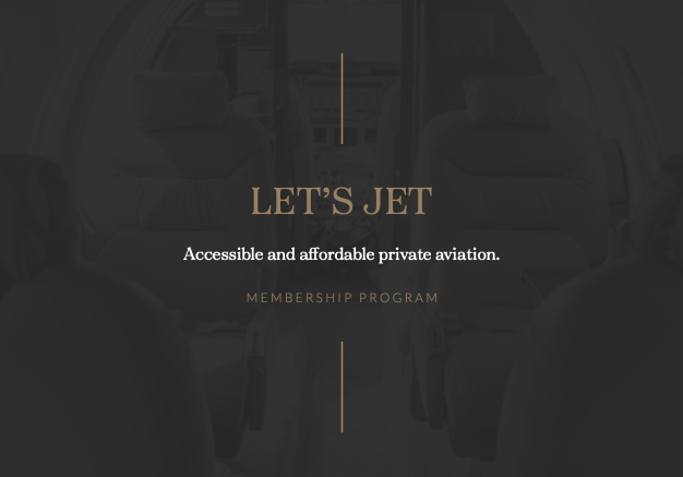 Private Jet Membership Brochure