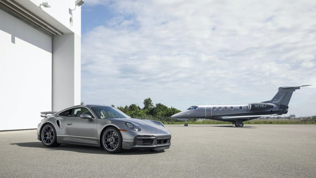 Embraer partners with Porsche